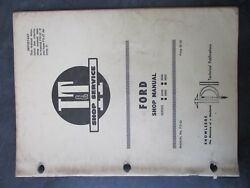 Ford 8000 8600 9000 9600 Tractor Shop Manual