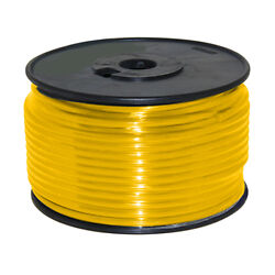 Wire 12 Awg Yellow 100ft Roll Ul Fine Strand Tinned Copper