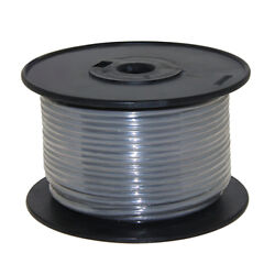Wire 16 Awg Grey 100ft Roll Ul Fine Strand Tinned Copper