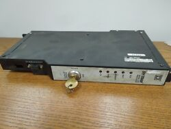 Square D Sy/max Model 300 Processor Class 8020 Type Scp-313 W/ Key Used