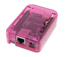 NEW! Pink Transparent Case for BeagleBone Black by SB Components