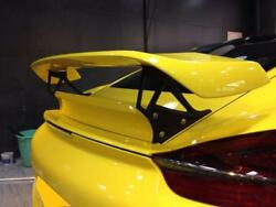 Fiber Glass Gt Rear Spoiler Wing Fit For Porsche 2013-2014 Cayman 981