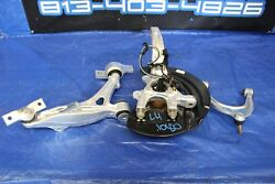 2015 LEXUS RC F 5.0 FSPORT OEM LH DRIVER FRONT SPINDLE HUB CONTROL ARMS #1080