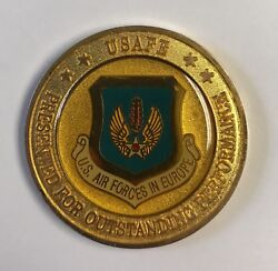 Usafe Air Force European Command Director Of Operations Outstanding Performance