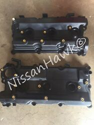 New Oem Nissan Pathfinder 2002-2004 3.5 Only - Both Valve Covers 2