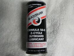 Vintage Outboard Formula 50 D 2 Cycle Outboard Lubricant 16oz. Pop Top Can
