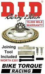 Yamaha Rd400 Cast Wheels 77 Did Upgrade Chain And Sprocket Kit + Tool