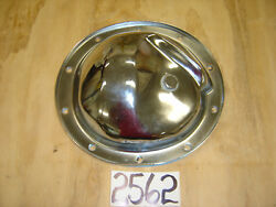 1967 - 1969 Camaro Chrome 10 Bolt Rear Differential Cover With Plug