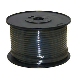 Wire 14 Awg Black 100ft Roll Ul Fine Strand Tinned Copper