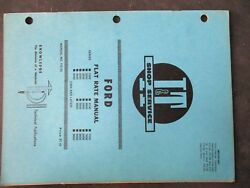 Ford 1000 2000 3000 4000 5000 7000 8000 9000 Tractor Flat Rate Manual