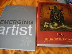 2 Arts And Paintings Auctions Catalogs From India 2016