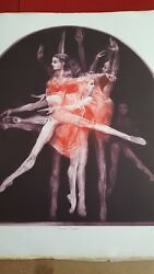 G.h.rothe Dance Portfolio Signed And Numbered Done In Mezotint Etching W/certs