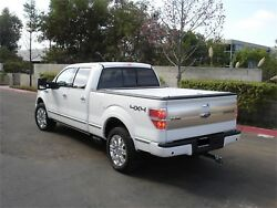 Truck Covers Usa Cr101white American Roll Cover Fits 97-14 F-150 F-150 Heritage