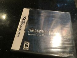 Final Fantasy Tactics A2 For Nintendo Ds Brand New Factory Sealed