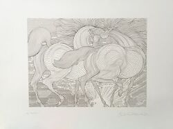 Guillaume Azoulay Tryst Sold Out Limited Edition Etching On Paper H/s Coa