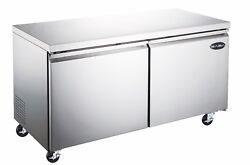 Saba 60 Commercial Undercounter Refrigerator, Stainless Steel Food Storage