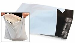 White Mailing Mail Bags Strong Packaging Postal Polythene Plastic Uk All Sizes