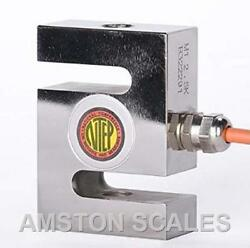 5000 Lb S-type Load Cell Ntep Legal For Trade Hanging Crane Scale Alloy Steel