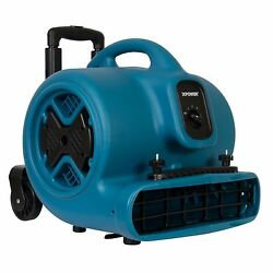 Xpower P-630hc Air Mover, Blower, Fan, Dryer W/ Telescopic Handle, Carpet Clamp