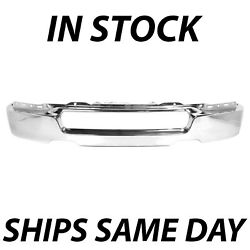 New Chrome Front Bumper For 2004-2005 Ford F150 F-150 Truck To 08/08/05 Mnf Date