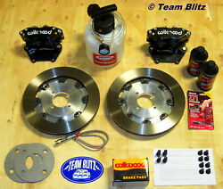 Ford Capri 300mm Big Brake Kit Wilwood Rotors And Calipers Everything Is Included