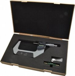 Mitutoyo 3 To 4 Ip65 Carbide Standard Electronic Outside Micrometer 0.000050...