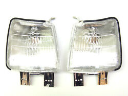 Toyota Carina II 2 1984-1987 Front Right + Left Corner Lamps New one Set