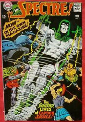 The Spectre 1 Dc Silver Age 1967 Premier Issue
