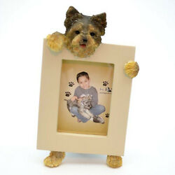 Yorkshire Terrier Yorkie Puppy Dog Picture Photo Frame