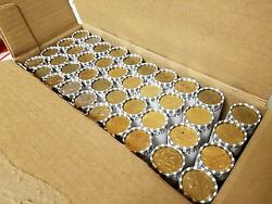 40 Unsearched Rolls 1000 Circulated Mixed Small Dollars. Real U.s. Coins