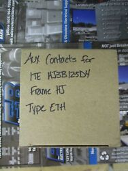 ITE HJ FRAME AUXILIARY CONTACTS- WARRANTY