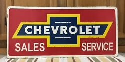 Chevrolet Sales Service Authorized Shop Cars Truck Coupe Chevy Coke Large Ss