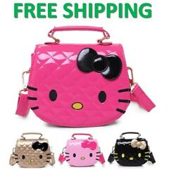 Hello Kitty Cute Cartoon Handbag Shoulder Bag Messenger Bag for Women Girls Kids
