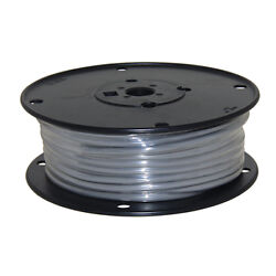 Wire 10 Awg Grey 100ft Roll Ul Fine Strand Tinned Copper