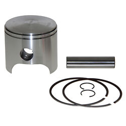 Piston Kit Wiseco .080/2.00mm Polaris 1050cc 1997 And Up 3 Cyl Black Motor