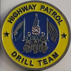 Ppd Philadelphia Police Department Hp Highway Patrol Drill Team Challenge Coin