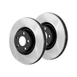 Centric Rear High Carbon Brake Rotors 2PCS For 2007-2013 Mercedes-Benz S65 AMG