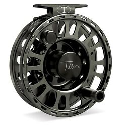 Tibor Signature Fly Reel Size 9/10 Black New Free Fly Line