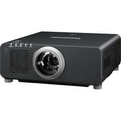 NEW Panasonic PT-DZ870ULK 1-Chip 8500 Lumens DLP Projector (No Lens)