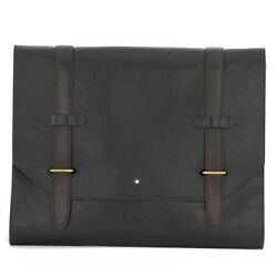 Man Montblanc Heritage 1926 Document Case 116809 Business Clutch Bag New