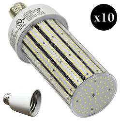 QTY 10 CC120-39 + 10 Adapters LED HIGH BAY FACTORY LIGHT E39 WHITE 120W EQV 720W