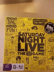 Saturday Night Live The Laughing Guessing Improv Board Game New Sealed