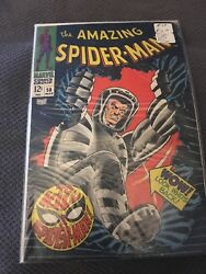 Amazing Spiderman, Issue 58, Silver Age, 1968, 12 Cent Issue