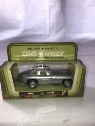 Mc Toy Old Timer 8236-8b Diecast Pull Back Action 1955 Mercedes Benz 300sl Mib