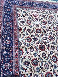 Used, 9' X 11' Wool Rug In Good Condition. Nice Color And Floral Design