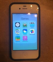 Iphone 4 With Case And Charger See Description