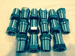 Set Of 161.25-12 Weld On Tube Adapter Hex 8 Rh And 8lh Off Road 4 Link Bung
