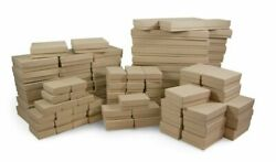 Kraft Cotton Filled Gift Boxes Jewelry Cardboard Box Lots Of 122550100