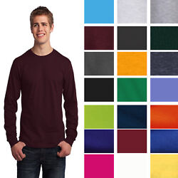 Port And Company Long Sleeve Core Cotton T-shirt Pc54ls