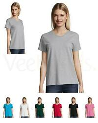Hanes Women Neck Label Relaxed Fit Comfortsoft V Neck T Shirt $8.67